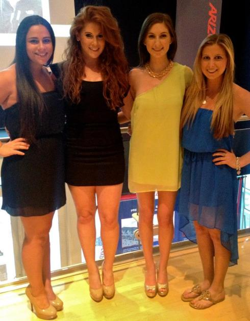 My sorority family at the superlative banquet