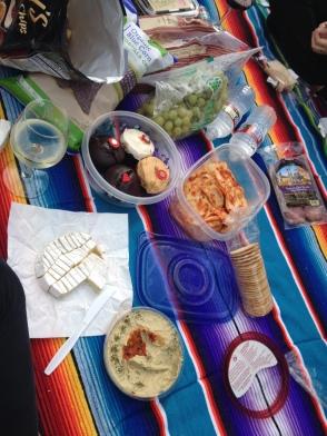 Mrs.T's Pierogies picnic!